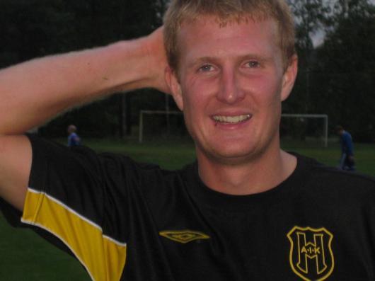 """Lika förvånad över """"stimmet"""" som alla andra är Andreas Arvidsson , nu målskytt för fjärde matchen i rad."""