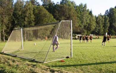 Göteryds målvakt bortfintad på straffen fram till 2-0.