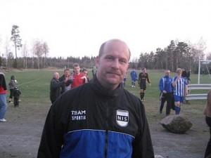 Daniel Olofsson stod för ett märkligt kvitteringsmål.