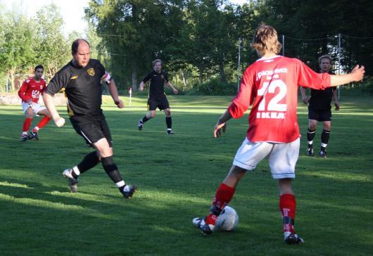 Lagkaptenen för kvällen, Johan Lavesson, gjord en ny fin match och låg bakom flera farligheter med sina inlägg och frisparkar