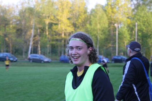 """Succe´debutant : Alfred Martinsson, 19. Hur kändes det att debutera för Horda AIK? """"Alla mina drömmar slog in. Väldigt skönt det här"""""""