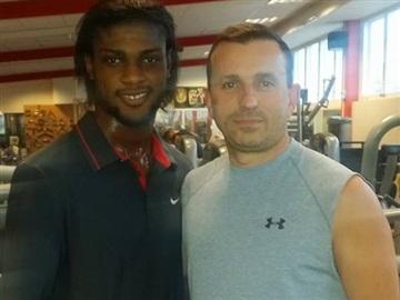 U 21-spelare Joseph Baffo är en av Emirs elever som lyckats efter individuell träning.
