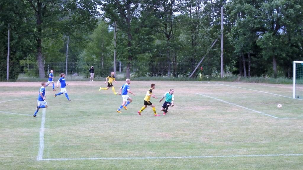 1-0 av en frispelad Franjo efter 2 mnuter