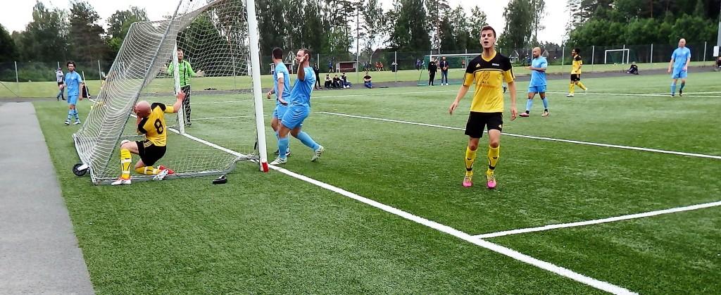 Efter 26 minuter fick Horda utdelning på sin överlägsenhet när Nazif Brahimi forcerade in 1-0 , assisterad av Franjo Misic