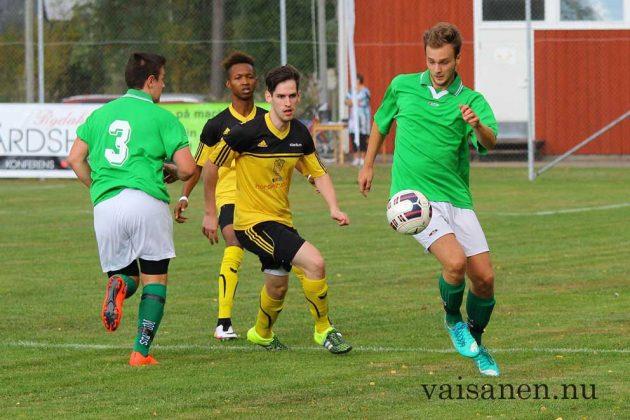 Khalid och Sandström hade bra koll i försvaret