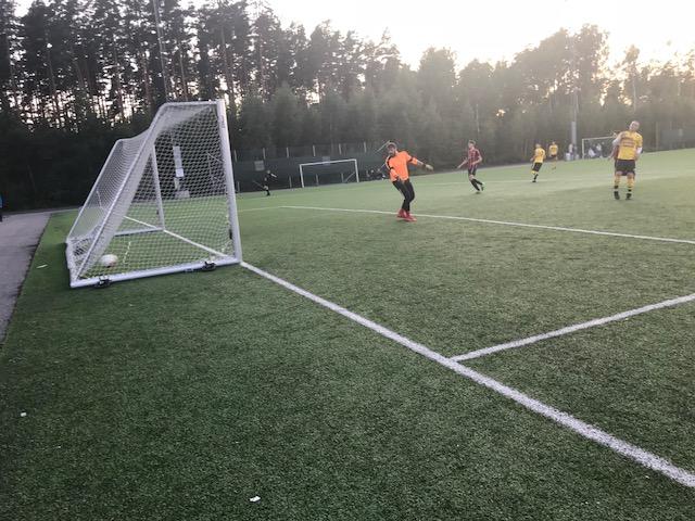 Zenel gör 2-1 framspelad av  Elnes i 65 min , ett avgörande mål